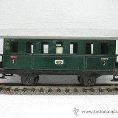 Trenes Escala: FLEISCHMANN VAGON DE VIAJEROS Nº2 -ESCALA H0-. Lote 30892908