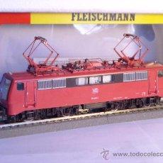 Trenes Escala: LOCOMOTORA ELECTRICA ESCALA 1/87 H0 FLEISCHMANN 4347 BR 111 036-0 DE LA DB CAJA DOCUMENTACION. Lote 32739338