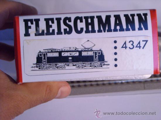 Trenes Escala: locomotora electrica escala 1/87 h0 Fleischmann 4347 BR 111 036-0 de la DB caja documentacion - Foto 22 - 32739338