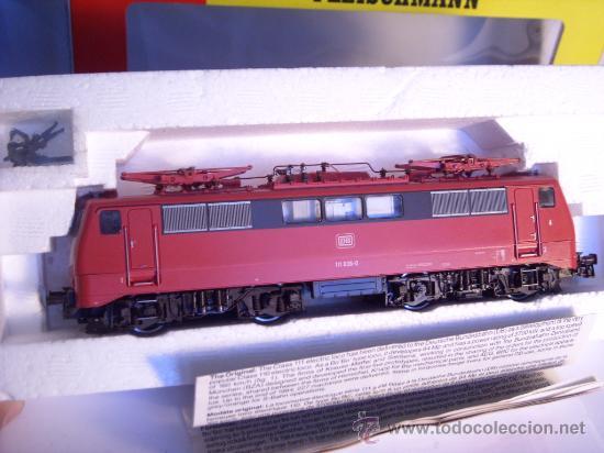 Trenes Escala: locomotora electrica escala 1/87 h0 Fleischmann 4347 BR 111 036-0 de la DB caja documentacion - Foto 19 - 32739338