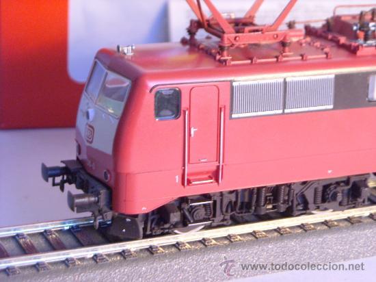 Trenes Escala: locomotora electrica escala 1/87 h0 Fleischmann 4347 BR 111 036-0 de la DB caja documentacion - Foto 2 - 32739338
