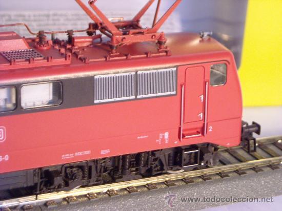 Trenes Escala: locomotora electrica escala 1/87 h0 Fleischmann 4347 BR 111 036-0 de la DB caja documentacion - Foto 4 - 32739338