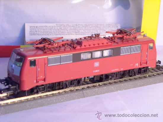 Trenes Escala: locomotora electrica escala 1/87 h0 Fleischmann 4347 BR 111 036-0 de la DB caja documentacion - Foto 7 - 32739338