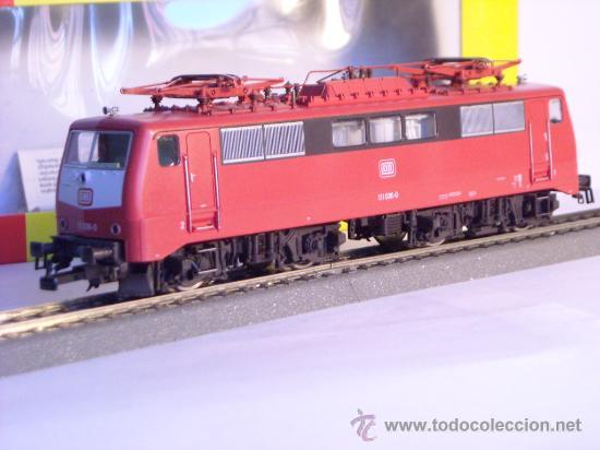 Trenes Escala: locomotora electrica escala 1/87 h0 Fleischmann 4347 BR 111 036-0 de la DB caja documentacion - Foto 23 - 32739338