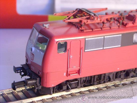 Trenes Escala: locomotora electrica escala 1/87 h0 Fleischmann 4347 BR 111 036-0 de la DB caja documentacion - Foto 8 - 32739338