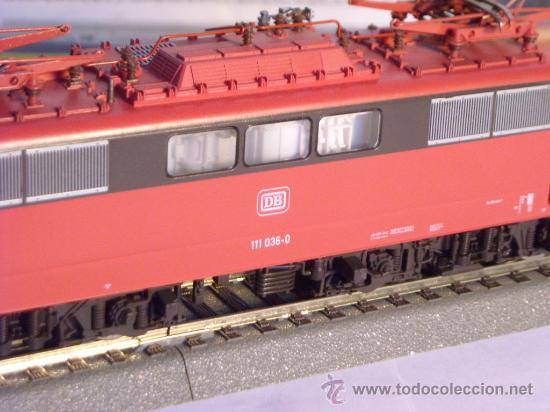 Trenes Escala: locomotora electrica escala 1/87 h0 Fleischmann 4347 BR 111 036-0 de la DB caja documentacion - Foto 9 - 32739338