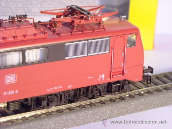 Trenes Escala: locomotora electrica escala 1/87 h0 Fleischmann 4347 BR 111 036-0 de la DB caja documentacion - Foto 10 - 32739338