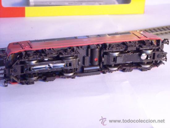 Trenes Escala: locomotora electrica escala 1/87 h0 Fleischmann 4347 BR 111 036-0 de la DB caja documentacion - Foto 15 - 32739338