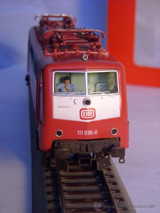 Trenes Escala: locomotora electrica escala 1/87 h0 Fleischmann 4347 BR 111 036-0 de la DB caja documentacion - Foto 18 - 32739338