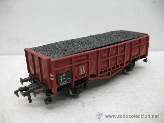 Trenes Escala: Fleischmann - Vagón de mercancías abierto de la DB - Escala H0 - Foto 3 - 33513663
