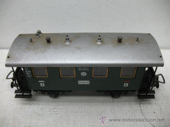 Trenes Escala: Fleischmann - Vagón de pasajeros nº3 Ansbach - Escala H0 - Foto 2 - 34211087
