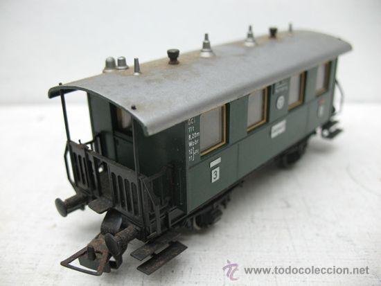 Trenes Escala: Fleischmann - Vagón de pasajeros nº3 Ansbach - Escala H0 - Foto 3 - 34211087