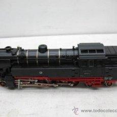 Trenes Escala: FLEISCHMANN - LOCOMOTORA DE VAPOR 65014 CORRIENTE CONTINUA - ESCALA H0. Lote 34511396