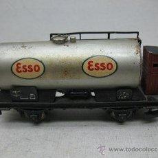 Trenes Escala: FLEISCHMANN - VAGÓN CISTERNA GFN ESSO CON GARITA - ESCALA H0. Lote 35531386