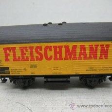 Trenes Escala: FLEISCHMANN - VAGÓN DE MERCANCÍAS CERRADO - ESCALA H0. Lote 35632795