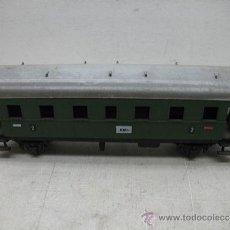 Trenes Escala: FLEISCHMANN - ANTIGUO VAGÓN DE MERCANCÍAS CERRADO METÁLICO - ESCALA H0. Lote 35653130