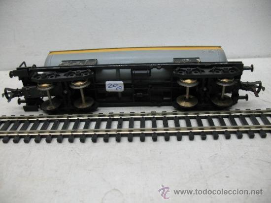 Trenes Escala: FLEISCHMANN - VAGON CISTERNA DE LA DB -ESCALA H0 - - Foto 4 - 35776945