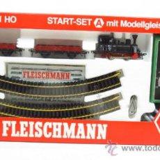 Trenes Escala: FLEISCHMANN ESCALA H0 1/87 SET STARTSET A ANALOGICO REF 6314 LOCOMOTORA ANNA NUEVO. Lote 36171432