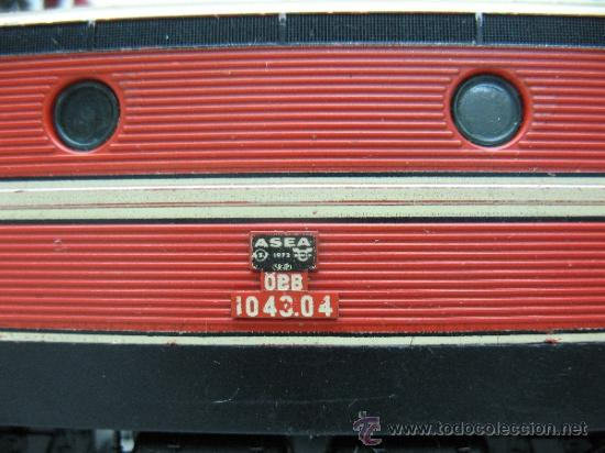 Trenes Escala: Fleischman -locomotora eléctrica de la OBB 10 43.04 -dc-esc ho - Foto 3 - 36235380