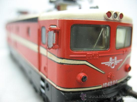 Trenes Escala: Fleischman -locomotora eléctrica de la OBB 10 43.04 -dc-esc ho - Foto 9 - 36235380