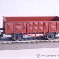 Trenes Escala: FLEISCHMANN PARA MARKLIN AC ESCALA H0 1/87 VAGON MERCANCIAS ABIERTO. Lote 37721550