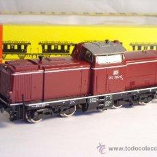Trenes Escala: FLEISCHMANN ESCALA H0 1/87 LOCOMOTORA DIESEL BR 212 380 DB CORRIENTE CONTINUA. Lote 38075973