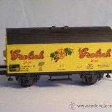 Trenes Escala: FLEISCHMANN ESCALA H0 1/87 VAGON CERVECERO GROLSCH DE LA NS. Lote 38076087