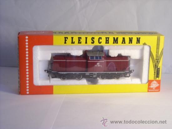 Trenes Escala: fleischmann escala h0 1/87 locomotora diesel BR 212 380 DB corriente continua - Foto 14 - 38075973