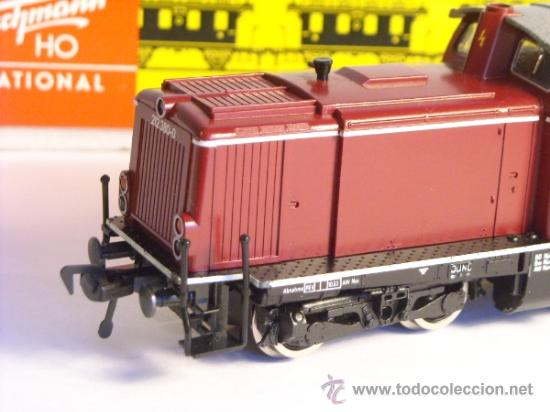 Trenes Escala: fleischmann escala h0 1/87 locomotora diesel BR 212 380 DB corriente continua - Foto 2 - 38075973