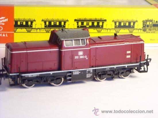 Trenes Escala: fleischmann escala h0 1/87 locomotora diesel BR 212 380 DB corriente continua - Foto 5 - 38075973