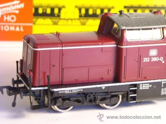 Trenes Escala: fleischmann escala h0 1/87 locomotora diesel BR 212 380 DB corriente continua - Foto 6 - 38075973