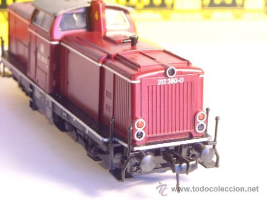 Trenes Escala: fleischmann escala h0 1/87 locomotora diesel BR 212 380 DB corriente continua - Foto 8 - 38075973