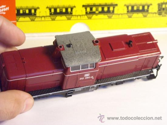 Trenes Escala: fleischmann escala h0 1/87 locomotora diesel BR 212 380 DB corriente continua - Foto 9 - 38075973