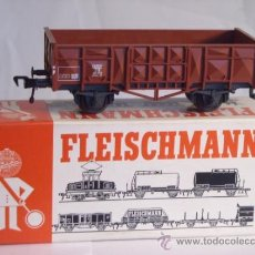 Trenes Escala: FLEISCHMANN ESCALA H0 1:87 REF 5012 VAGON MERCANCIAS ABIERTO DE LA DB. Lote 38600982