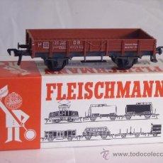 Trenes Escala: FLEISCHMANN ESCALA H0 1:87 REF 50121 VAGON MERCANCIAS ABIERTO DE LA DB. Lote 38601130