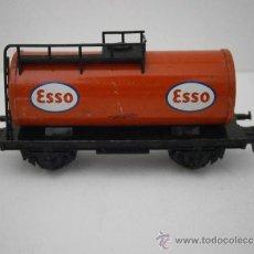 Trenes Escala: VAGON CISTERNA ESSO DE FLEISCHMANN, HO.. Lote 38986887