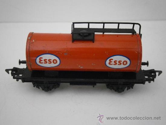 Trenes Escala: VAGON CISTERNA ESSO DE FLEISCHMANN, HO. - Foto 2 - 38986887