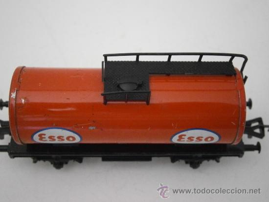 Trenes Escala: VAGON CISTERNA ESSO DE FLEISCHMANN, HO. - Foto 3 - 38986887