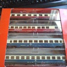 Trenes Escala: VAGONES DE TREN FLEISCHMANN EN H0 561901 4 UNIDADES. Lote 39048041