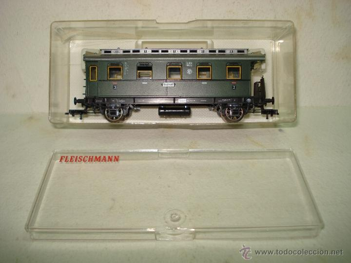 Trenes Escala: Coche de 3ª Clase de la Antigua DR en Escala *H0* Ref. 5069 de FLEISCHMANN - Foto 7 - 39595019