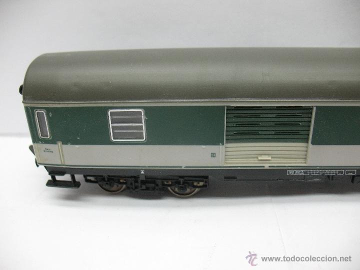 Trenes Escala: Fleischmann - Vagón de mercancías cerrado de la DB 518095-70010-6 - Escala H0 - Foto 2 - 39745603