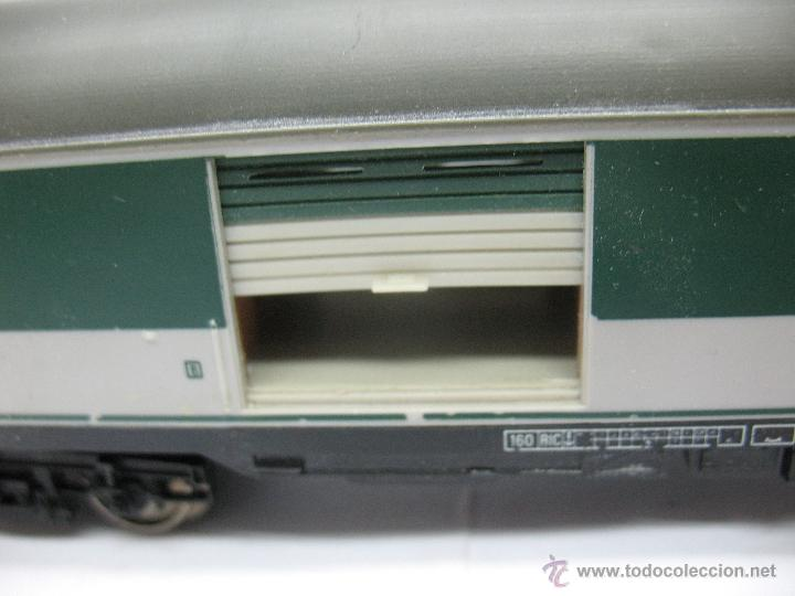 Trenes Escala: Fleischmann - Vagón de mercancías cerrado de la DB 518095-70010-6 - Escala H0 - Foto 4 - 39745603