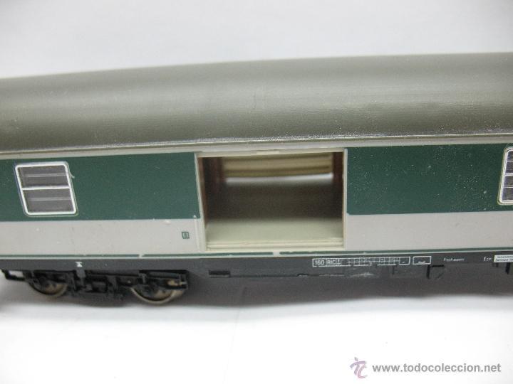 Trenes Escala: Fleischmann - Vagón de mercancías cerrado de la DB 518095-70010-6 - Escala H0 - Foto 5 - 39745603