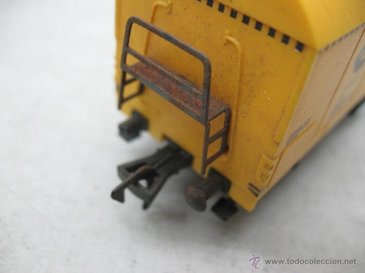 Trenes Escala: Fleischmann - Vagón de mercancías cerrado GULLFIBER - Escala H0 - Foto 4 - 40086951