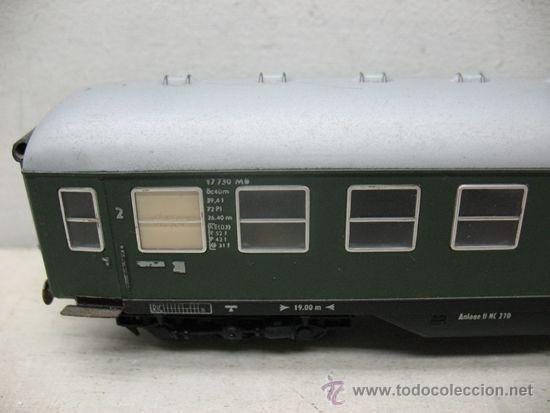 Trenes Escala: Fleischmann - Coche de pasajeros de la DB 17730 - Escala H0 - Foto 2 - 41542318