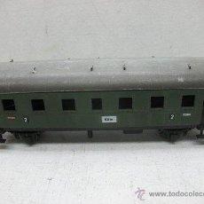 Trenes Escala: FLEISCHMANN - ANTIGUO COCHE DE VIAJEROS 2 - ESCALA H0. Lote 42170451