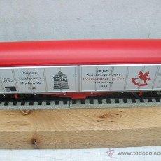 Trenes Escala: FLEISCHMANN 99 5371 K,VAGON DE MERCANCIAS 50 ANIVERSARIO NURNBERG 1949-1999,ESCALA HO. Lote 43181610