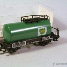 Trenes Escala: FLEISCHMANN #5404. ESCALA H0. VAGÓN CISTERNA BP . EN SU CAJA. Lote 43252025