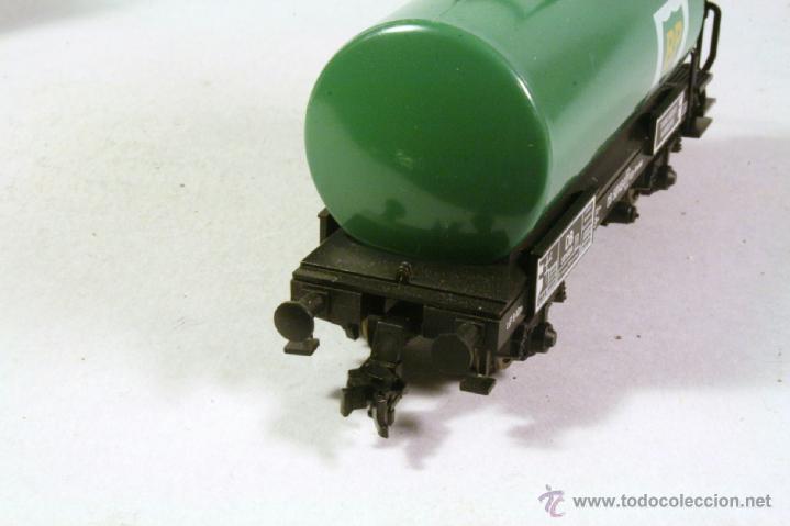 Trenes Escala: FLEISCHMANN #5404. Escala H0. Vagón cisterna BP . En su caja - Foto 2 - 43252025