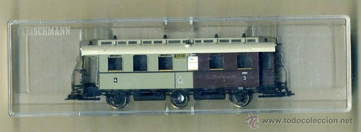 FLEISCHMANN 5896 - COCHE VIAJEROS KPEV 2429 - PRUSIA ALEMANIA - TREN FERROCARRIL (Juguetes - Trenes Escala H0 - Fleischmann H0)